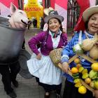 The 10-day festival in Peru has reportedly evolved into the largest food fair in Latin America featuring typical Peruvian food. Looks yummy.