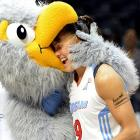 The Atlanta Dream guard celebrated her 33rd birthday (Sept. 6) by being attacked and eaten by a gigantic, horrifying dodo bird that scientists had wrongly assumed was extinct. It is believed that man-made global warming hatched a long-buried egg under Philips Arena.