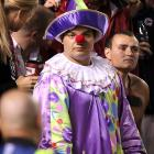 Famed clown I. Pagliacci -- (how that boy can sing;   CLICK HERE   to listen!) -- took in the thrilling college pigskin action at Williams-Brice Stadium where South Carolina deep-sixed Navy, 24-21.