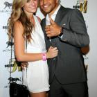 After taking his fair share of abuse from Floyd Mayweather Jr., the welterweight pug found solace with main squeeze Alexia Garland at a post-beatdown bash at the MGM Grand in Las Vegas.