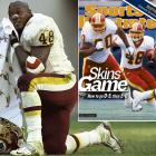 Davis put up an extremely successful career for a fourth-round fullback. In 1999, he was finally bestowed bell-cow status by the Redskins, and he thrived. Davis ran for 1,405 yards and a league-high 17 scores. He tacked on three more 1,000-yard seasons before injuries cut down his career in Carolina. Davis finished with 8,502 career rushing yards, currently 41st all time.