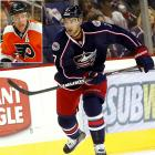 """Shake-ups in Philadelphia and Columbus brought the six-year Flyers pivot and his 11-year, $58 million contract to the Blue Jackets where he will team with sniper Rick Nash on the first line. Giving up young forward Jakob Voracek and 2011 first- and third-round picks, the Jackets hoped the trade would inject some excitement into their fan base. """"Anytime a franchise acquires a player of this status it energizes the franchise,"""" said Jackets GM Scott Howson. Carter scored 36 goals for the Flyers while leading them in game-winning and power play tallies last season and was a key member of their team that reached the 2010 Stanley Cup Final."""
