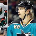 After yet another postseason disappointment, the Sharks shook up their roster by acquiring the All-Star blueliner from Minnesota for forward Devin Setoguchi, prospect Charlie Coyle, and a first-round pick in the 2011 draft. Burns is coming off career-high totals in goals (17), assists (29) and points (46) and is expected to bring leadership and a solid two-way game to San Jose.