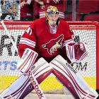 """The departure of cornerstone netminder Ilya Bryzgalov to Philadelphia left the Coyotes scrambling to find a reliable starting goaltender. Their solution was to reunite Smith via a two-year, $4 million deal, with Dave Tippett, his former coach in Dallas. The 2001 fifth-round pick spent last season as backup in Tampa Bay where a demotion to the AHL steeled his resolve. """"Mad is a nice way to put it,"""" Smith told  The Arizona Republic.  """"Obviously, feeling like you can be an NHL goaltender and getting sent to the minors and having to play some games down there, it was a frustrating time. But there's two ways to look at it -- you can give up, say you're never gonna play again or you can buckle in and work really hard and play well down there, and when you do get another chance take advantage of that."""""""