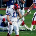 The first of four consecutive Super Bowl losses for the Bills came on an errant field goal attempt by kicker Scott Norwood. Trailing the New York Giants by a single point in the closing seconds of Super Bowl XXV, the Bills turned to Norwood to win the game. It had the distance, but Norwood had unfortunately hooked it wide right.
