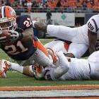 """Illinois took their record to 3-0, surprising No. 22 ranked Arizona State with a 17-14 win at Memorial Stadium. From the start, the Illini defense had set its sights squarely on 6-foot-8 Sun Devils quarterback Brock Osweiler. Six sacks and a pair of interceptions later it was clear their work was paying off. """"They brought a lot of pressure,"""" Osweiler said after the game. """"Shoot, it seemed like every snap."""""""