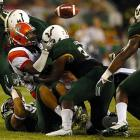 The South Florida certainly has something to smile about as junior quarterback B.J. Daniels led the Bulls to a commanding 70-17 rout over Florida A&M. Daniels completed 21 of 33 passes and threw for a career-high 382 yards and four touchdowns. Running back Darrell Scott also impressed, rushing 146 yards.