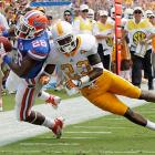 Make it seven straight for the Gators over the SEC East rival Vols. A swarming Florida defense made life difficult for Tyler Bray and Tennessee, but the star of this showdown was Chris Rainey, who totaled 233 yards, including an 83-yard touchdown catch.