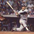In the sixth inning of Game 4, Reggie Jackson was on first and Thurman Munson was on second with no outs. Lou Pinella then hit a single into the outfield, but Jackson waited between second and first to see if the ball would be caught. When it wasn't, the Jackson raced to second and the Dodgers threw to the base to try and get the out. But instead of the ball reaching the base, it struck Jackson in thigh, allowing Munson to score from second and Mr. October to be safe. Following the game, much debate centered on whether Jackson purposefully got in the way or not.