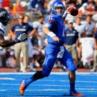 Last week:  19-of-33 passing for 142 yards, two TDs and two INTs in 30-10 win over Nevada.   Season:  102-of-138 passing for 1,137 yards, 14 TDs and two INTs.  We've come to expect a certain level of efficiency out of Moore, and for a game he was simply very un-Moore like. The senior had a career low in yards (142) and had his worst QB rating (101.6) as he threw multiple interceptions for just the third time in his 44 games. But to Moore's credit he earned his 42nd career win to move into a three-way tie with David Green and Andy Dalton for second all-time and bypassed Colt McCoy for eighth on the passing TD list with his 113th scoring strike.   Next up:  Friday at Fresno State