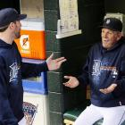 The Tigers ace politely explained to the senior citizen who wandered into Detroit's dugout at Comerica Park during the American League Championship Series why he's not allowed to sit on the team's bench and must return to the grandstand at once.