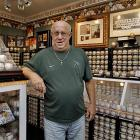 Dennis Schrader owns more than 4,600 signed balls. The collection is worth over $3 million and is stored in a room with one-foot thick walls, a bank vault door, video surveillance and motion sensors.