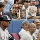 In 2008, rumors spread that Madonna was dating Yankees third baseman Alex Rodriguez, who had just divorced his wife. Though the two never publicly confirmed a romance, fans still heckled A-Rod.