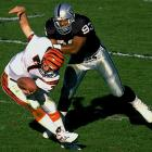 """He was a true Raiders legend, playing virtually his entire career in silver-and-black and epitomizing the proverbial """"Raiders way."""" He was intense and unrelenting, finishing with 107.5 sacks in a Raiders uniform and being a part of a Super Bowl championship team."""