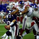 Only Brett Favre and Michael Strahan will ever know if the last-minute, single-season record-breaking sack in 2002 was a gift. But don't forget: Even without that sack, Strahan would have topped the Giants' sack charts -- and the great Lawrence Taylor -- by eight sacks.