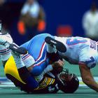 Those who saw the Luv Ya Blue Oilers of the 1970s will tell you Robert Brazile was Lawrence Taylor and Derrick Thomas before L.T. and Thomas did their thing. Still, sacks were not kept until 1982. Childress was a massive, yet nimble force and finished with 75.5 sacks despite playing in the middle of the line and often taking on double-teams.