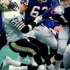 """Drew Brees may finally have put the once-woeful Saints franchise over the top, but it was Rickey Jackson and the """"Dome Patrol"""" that made people take the Saints seriously. Jackson made a career of refusing to be overshadowed or overlooked, finishing with 115 Saints sacks and always being around the ball."""