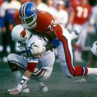 Seemingly born to be a Bronco, Fletcher brought his best every week, playing in 172 consecutive games, finishing with a franchise-best 97.5 career sacks, including an NFL-record 10 consecutive weeks with at least one sack. At 6-6, 240 pounds, Fletcher was perfect for the 3-4 defense as an end or outside linebacker.