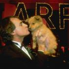LaRussa kisses a puppy during an Animal Rescue Foundation fundraiser. LaRussa, who has managed the Cardinals since 1996, is the founder of ARF.