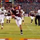 Virginia Tech fans have been waiting for a game like this from quarterback Logan Thomas. The first-year starter threw for 310 yards and three touchdowns while rushing for 28 yards and two scores, including the decisive strike with 56 seconds remaining. The Hokies revived their ACC title hopes, but likely crushed Miami's.