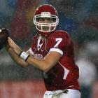 There are good nights, and then there are nights like Case Keenum had against Rice. Houston's star quarterback (pictured) threw five touchdowns to set the FBS career touchdown-pass record, then went on to throw four more to finish with a whopping nine on the night to go along with 534 yards.