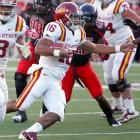 Iowa State coach Paul Rhoads watched as redshirt freshman Jared Barnett's confidence grew. Barnett threw for a touchdown and ran for another, and Iowa State shocked the Red Raiders a week after they won at Oklahoma. Making his first start, Barnett's mobility gave the Red Raiders defense fits. He rushed for 92 yards on 19 carries and completed 14-of-26 passes for 144 yards. His touchdowns were career firsts.