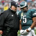 The Eagles and Andy Reid made Donovan McNabb the No. 2 overall pick in the 1999 draft and were rewarded with one of the winningest decades in NFL history. Over the next 10 years, Reid and McNabb combined to win 92 games, but are often remembered for their on-again, off-again relationship. The tandem reached its peak in 2004 when the Eagles advanced to the Super Bowl. But Philly lost to New England in the title game and never made it back. After numerous controversies, Reid and McNabb parted ways in 2010 following the reemergence of Michael Vick.