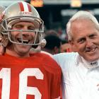 They rank 10th on this list, but Bill Walsh and Joe Montana are among the greatest coach-QB tandems to ever play the game. In their 10 years together, the two won three Super Bowls and reached the playoffs seven times. They won 75 games during the regular season and helped popularize the West Coat offense.