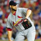 Chris Carpenter, who won Game 1, took the mound for the Cardinals in his last start of the World Series.