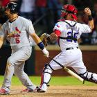 Napoli moved to the front of World Series MVP discussions with his tiebreaking eighth-inning double and his throwout of Allen Craig in the ninth.