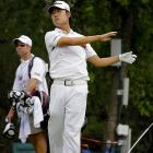 "Poor Kevin Na. Despite posting a four-under 64 over 17 holes, his first round of the Texas Open will be remembered for a wholly different reason: his meltdown on the ninth hole. Na hit one terrible shot after another, finishing with a tour-record 12-over-par 16. He summed it up best: ""One bad hole can basically shoot you out of the tournament. That's what I just did."""