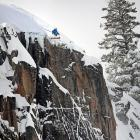 In exciting skiing news, this Squaw Resort (Lake Tahoe) local learned the hard way that tis best to stick to slopes that have a bit more snow and a slightly gentler incline...