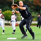 Baseball's former Iron Man was spotted working out with the Komazawa Gakuen Girls Junior and Senior High School teams in Tokyo. Can a comeback be near?