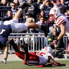 Tight end Kevin Haplea and the Nittany Lions fought hard, but came up just short of the Huskers in a 17-14 loss.