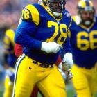 The seven-time Pro Bowl offensive tackle played his entire 20 NFL seasons with the Rams.
