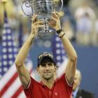 """""""What's made (Novak) Djokovic's year particularly incredible -- and made him particularly worthy of being named the 2011 Sportsman of the Year -- is the presence of the other two guys. Djokovic won on every surface, on four different continents. He's won in blowouts; he's won tight matches. But perhaps above all, he's done so with Federer and Nadal as contemporaries. In the past, when players have won relentlessly, the cynical response goes like this: 'Yeah, but who's his competition?' In Djokovic's case, you can hardly say that. He was 10-1 in 2011 against two of the best players ever to draw breath. And 60-5 against everyone else.""""    Click here to read more."""