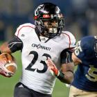 Isaiah Pead (pictured) rushed 22 times for 118 yards and quarterback Zach Collaros overcame two interceptions to score twice on the ground to help the Bearcats down the Panthers. With the victory, Cincinnati improves to 7-1 on the season.