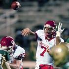 Needing just 267 yards, Houston QB Case Keenum threw for 407 yards on Saturday to become the NCAA's all-time leading passer in a rout over UAB. Keenum surpassed Timmy Chang's record of 17,072 yards with a 16-yard strike to Justin Thompson in the third quarter. Keenum, who threw nine TDs in a win last week, finished 39-of-44 with two TDs.