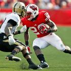 Now there's the Wisconsin team that wowed the nation through six games before suffering shocking back-to-back losses to Michigan State and Ohio State. The Badgers hit their stride again thanks to a monster day from Montee Ball (pictured), who carried 20 times for 224 yards and three touchdowns.