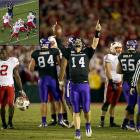 No. 3 TCU, the first non-AQ team to play in the Rose Bowl in the BCS era, silenced critics and completed its undefeated season (13-0) with a dramatic victory against No. 4 Wisonsin. The game essentially came down to one play: Horned Frogs star linebacker Tank Carder batted down Badgers quarterback Scott Tolzien's potential game-tying two-point conversion pass with two minutes left.