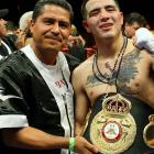 Garcia's aggressive coaching style has produced some of the most entertaining fighters in the sport. Two of Garcia's charges -- super bantamweight Nonito Donaire and lightweight Brandon Rios (right) -- claimed world titles this this year, both with emphatic knockouts. Garcia also trains his brother, Mikey, an unbeaten featherweight prospect and has been tapped to revive the career of former middleweight champ Kelly Pavlik.
