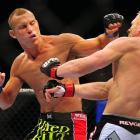 The busy WEC veteran has made the most of his debut year in UFC. The 28-year-old lightweight won four fights in a ninth-month span while racking up a Fight of the Night, Knockout of the Night and Submission of the Night.  He was to face Nick Diaz at UFC 141 on Dec. 30 with a chance to be the only five-time UFC winner in 2011.