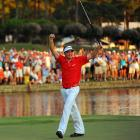 In his first major, the 25-year-old Bradley rallied from five shots down with three holes to play and beat Jason Dufner in a playoff to win the PGA Championship. The dramatic finish marked the second victory of the season for the rookie from St. John's, who won nearly $4 million on Tour in 2011.