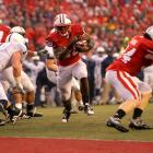 Ball rushed for 996 yards and 18 touchdowns last season ... as Wisconsin's No. 3 running back. Despite inheriting the starting role entering 2011, Ball began the season as an afterthought to transfer quarterback Russell Wilson, whom the school chose to promote as its Heisman candidate. Ball wasn't an afterthought for long. His 38 touchdowns earned him an invitation to New York for the Heisman Trophy ceremony and left him one shy of Barry Sanders' single-season record.