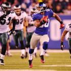 After failing to record a catch in the 2010 regular season as an undrafted rookie from UMass, Cruz has led the Giants in every vital receiving category, besting Hakeem Nicks and Mario Manningham. He's also become one of the league's best big-play receivers, as evidenced by his 99-yard touchdown against the Jets in Week 16. With one game to go, Cruz ranked third in the NFL in receiving yards (1,308, on 76 catches) to go with eight TDs.
