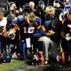 "Season's greetings and welcome to the latest installment of  Did You See That? , the photo gallery that, we have it on Good Authority, doesn't always sit well with The Big Kahuna. We begin with this photo of the popular Denver Broncos quarterback ""Tebowing"" with a group of people who were all immediately suspended along with two students at Riverhead High School on Long Island.   CLICK HERE   to read the actual news report."