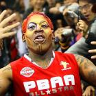 Looking as hale and stable as ever, the former Bulls great joined Scottie Pippin, Penny Hardaway, Gary Payton, Clyde Drexler, Mitch Richmond and many, many others in Macao for the U.S. Pro-Ball Legend Asia Tour.