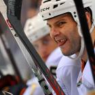 """All the Anaheim Ducks center wants for Christmas are his two front teeth so he can say """"Sister Susie sitting on a thistle"""" without making his teammates laugh."""