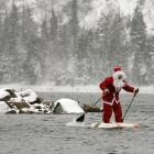 You better watch out, you better not cry, you better not pout, we're tellin' you why: Old St. Nick, aka Nikolai Vasilyev, is on his way. He was spotted on the Yenisei River, leaving the Siberian city of Krasnoyarsk on December 22.