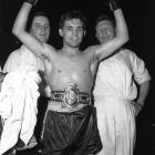 Despite losing the tips of three fingers in an accident as a teenager, the Welsh featherweight captured the world featherweight championship with a victory over Japan's Mitsunori Seki in 1968.